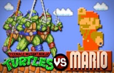 Teenage Mutant Ninja Turtles vs. Super Mario