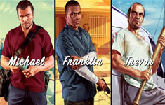 GTAV Trailers Michael, Franklin, Trevor