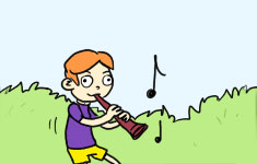 Ambitious to a Flautist