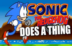 Sonic Does A Thing