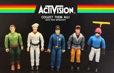 Custom Atari 2600 Era Activision Action Figures