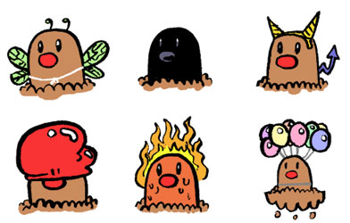 The Many Lives of Diglett