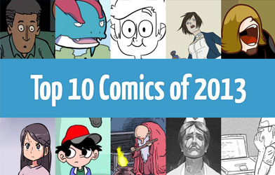 Top 10 Comics of 2013