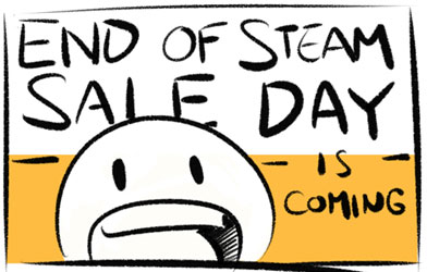 End of Steam Sale Day
