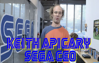SEGA's New CEO Keith Apicary