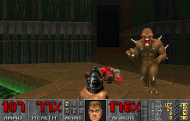 What the Monsters in Doom Actually Saw