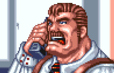 Mike Haggar Answers the Call