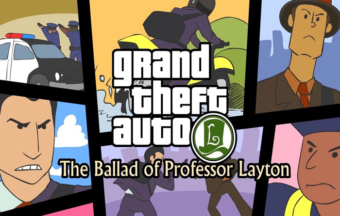 Grand Theft Auto: The Ballad of Professor Layton