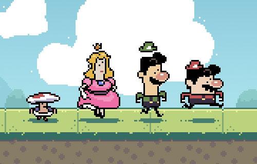 Silly Mario Bros.