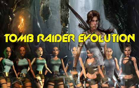 Evolution of Lara Croft Through the Years
