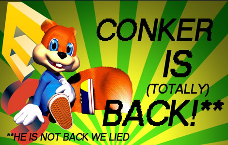 Conker is Totally Back, Guys*