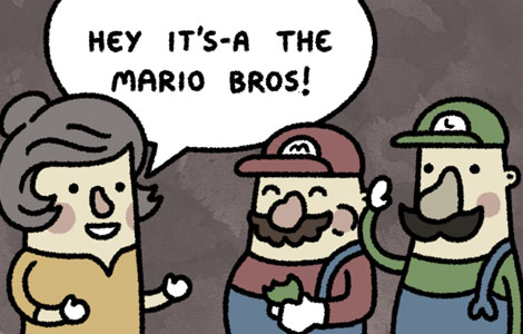 Its-a the Mario Bros.