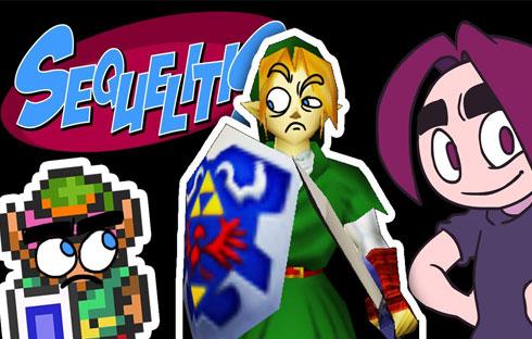 Egoraptor Tackles the Legend of Zelda Series