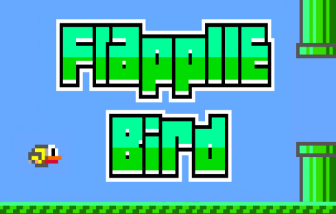 Flappy Bird for Apple II