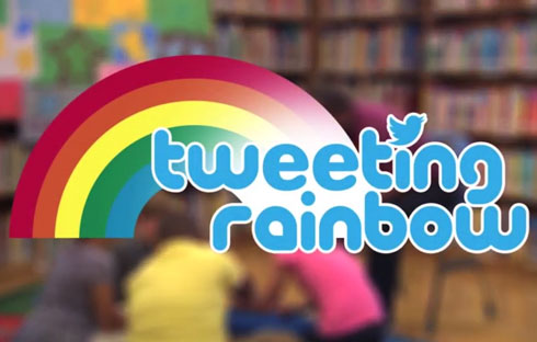 Tweeting Rainbow