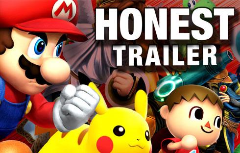 An Honest Super Smash Bros. Game Trailer
