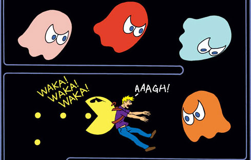 Back-Pac-Man