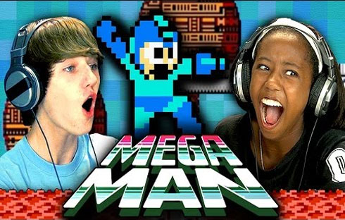Teens React to Mega Man