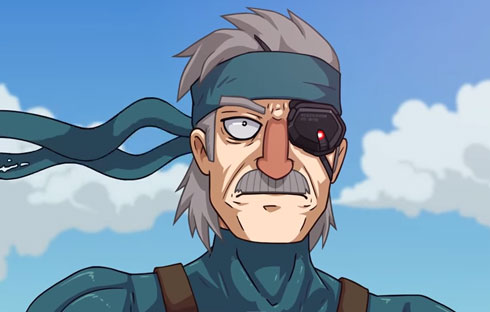 Solid Snake Adventures