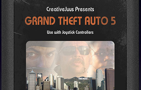 Grand Theft Auto 5: Atari 2600 Version