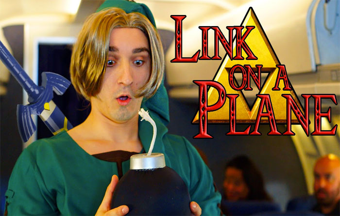 Link on a Plane