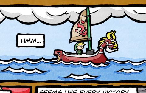 Link's Water Log