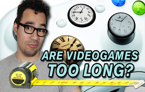 Are Video Games too Long?