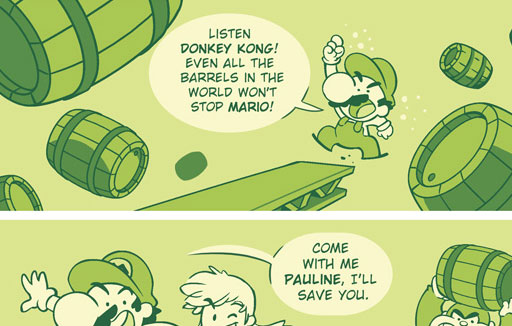 Mario Saves the Day