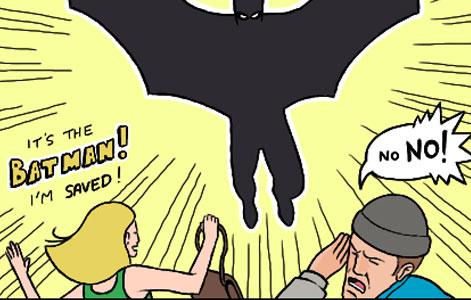 Bat, Man