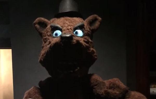 A Real Life Freddy Fazbear Animatronic