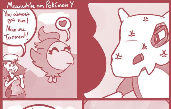 Meanwhile on Pokémon Y