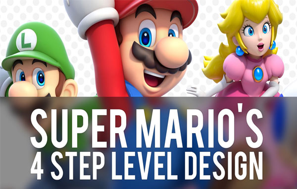 Super Mario 3D World's Four Step Level Design
