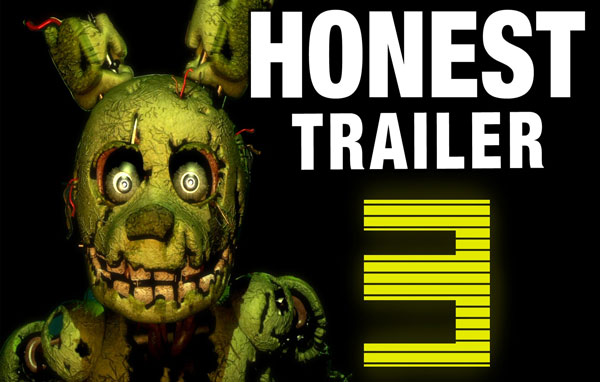 An Honest Five Nights at Freddy's 3 Game Trailer
