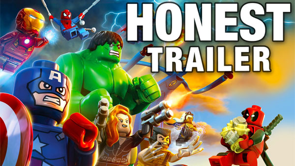 An Honest LEGO Marvel Super Heroes Game Trailer