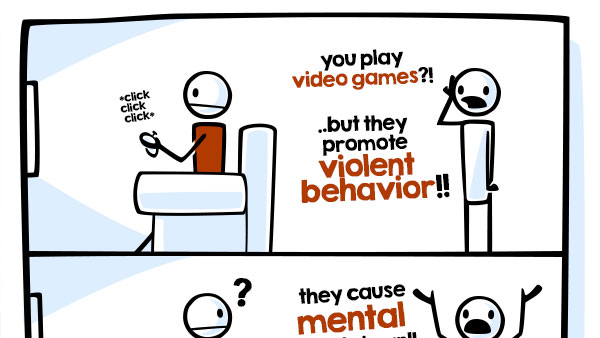 Video Games are Evil