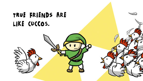 True Friends Are Like Cuccos…