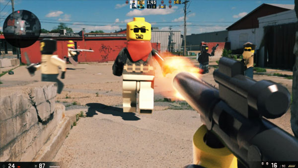 LEGO First Person Shooters