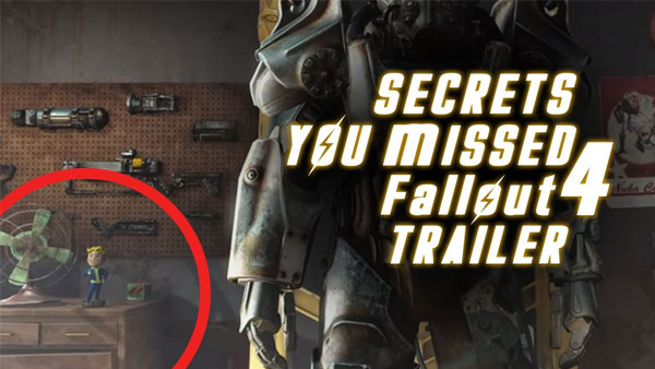 Secrets you Missed in the Fallout 4 Trailer