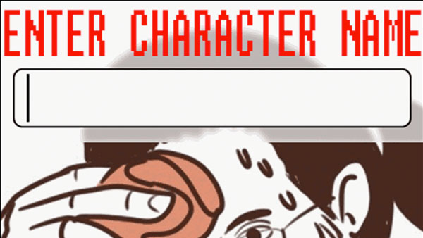 Enter Character Name