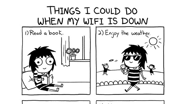 Things I Could Do When My Wi-Fi is Down