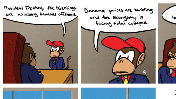 Donkey Kong's Country