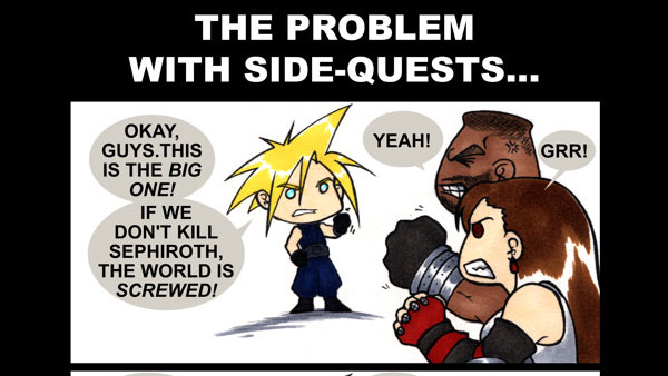 The Problem with Side Quests