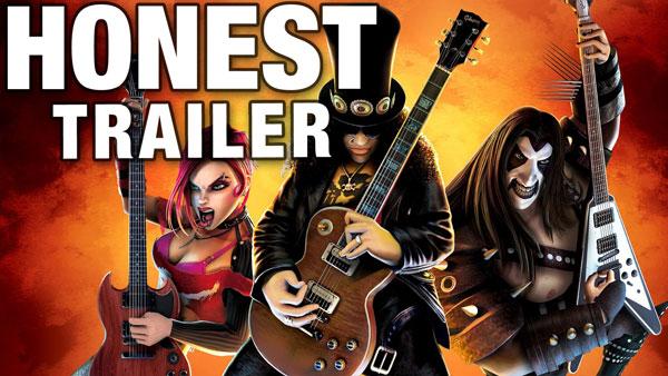 An Honest Guitar Hero Game Trailer