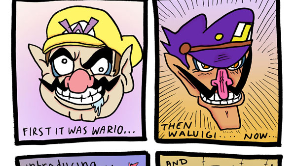 First it was Wario…