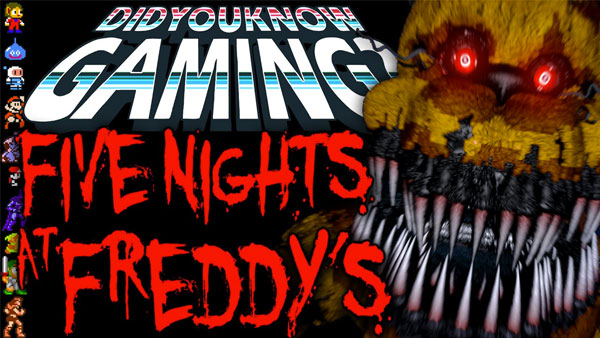 More Stuff You Didn't Know about Five Nights at Freddy's