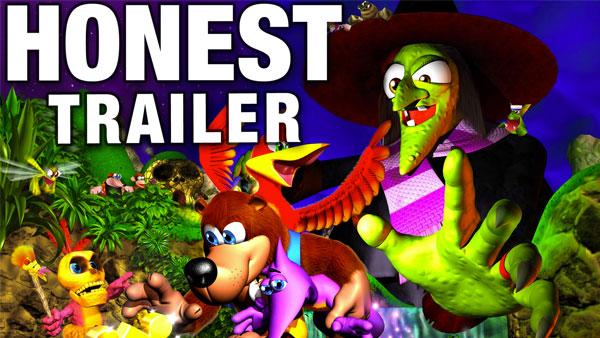 An Honest Banjo Kazooie Game Trailer