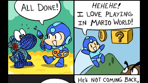 It's-a me, Mega Man!