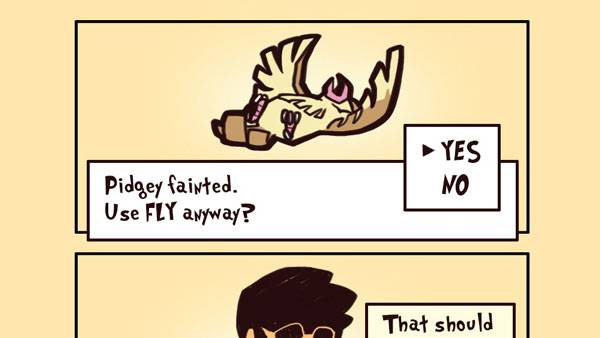 Pidgey Used Fly!