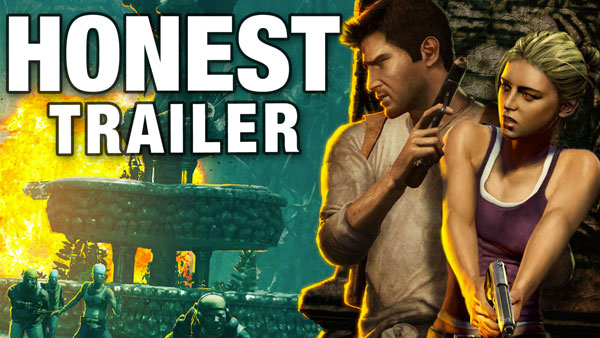 An Honest UNCHARTED Game Trailer