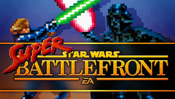 Super Star Wars Battlefront – 16-Bit Trailer